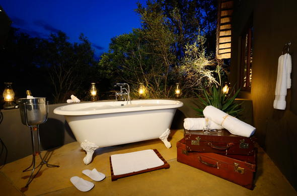 Honeymoon accommodation at Selati Camp in Sabi Sabi Game Reserve.